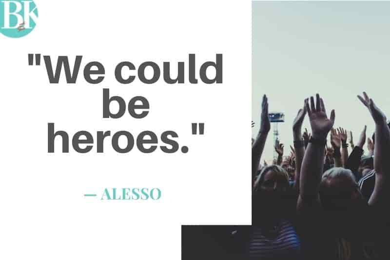 alesso we coudl be heroes