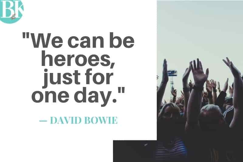 david bowie we can be heroes