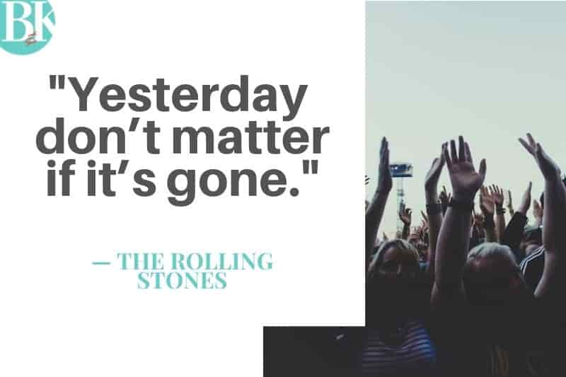 rolling stones yesterday dont matter