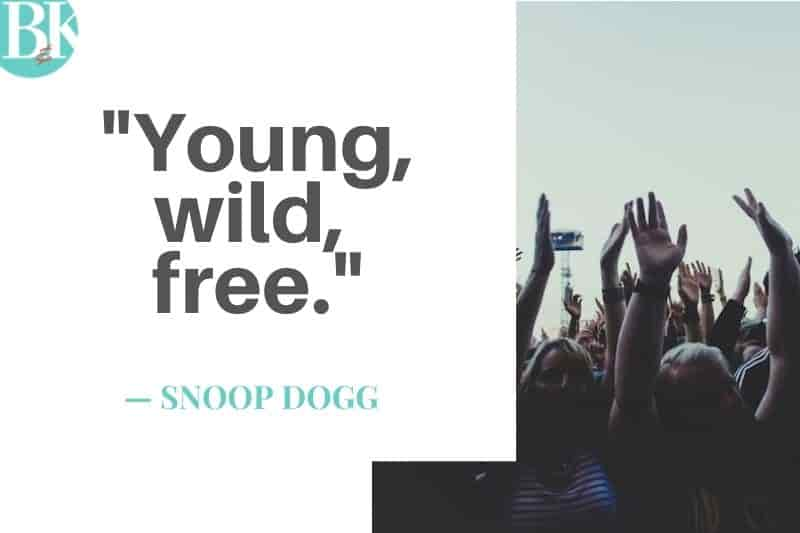 snoop dog young wild and free