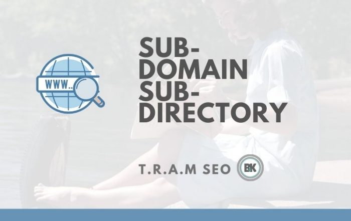 The Difference Between Subdomains and Subdirectories